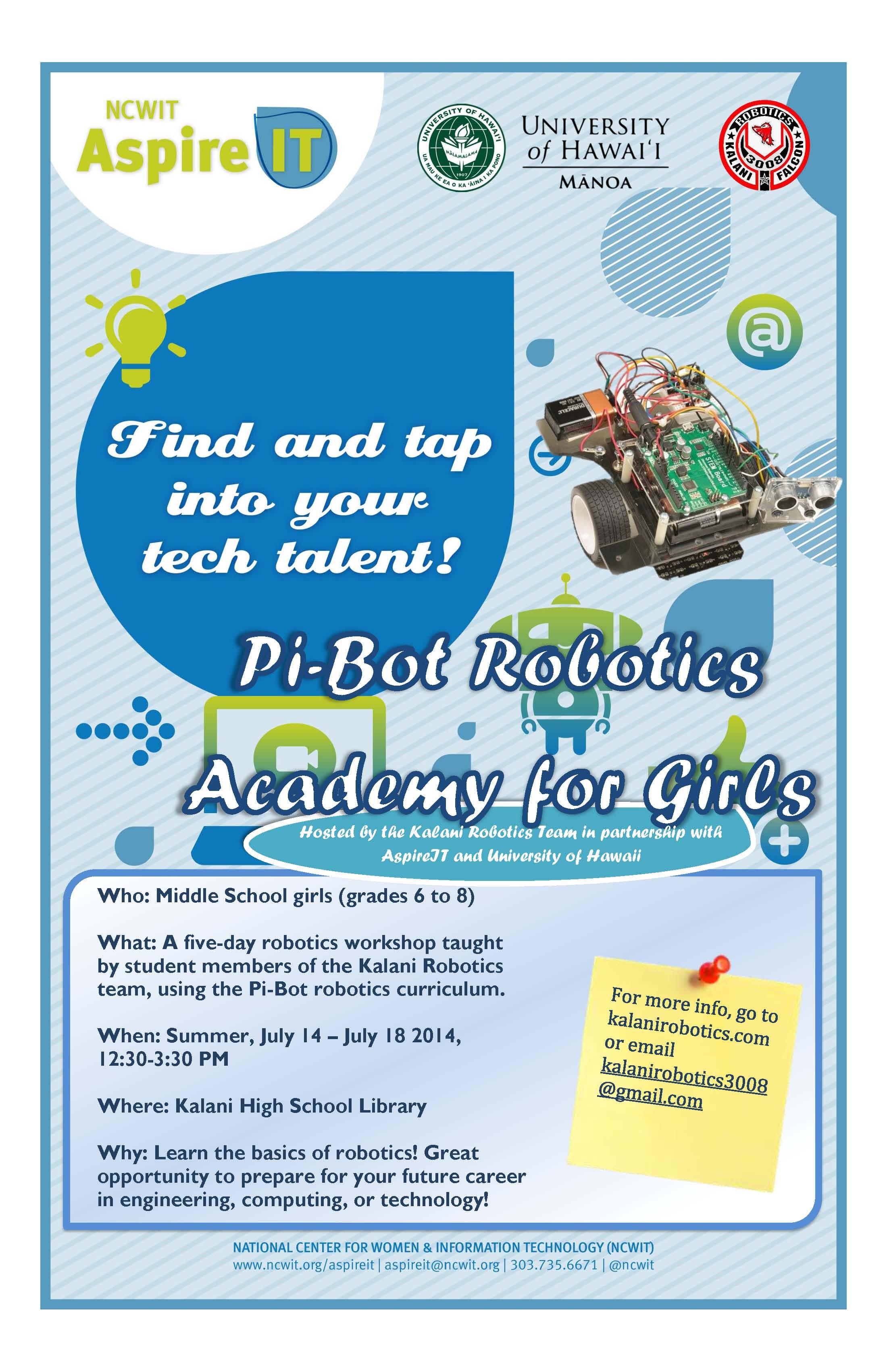 pi-bot flyer