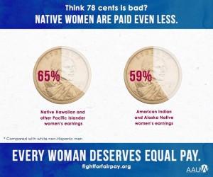 Native Women Pay Gap