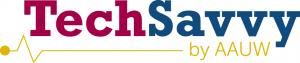 AAUW-Tech-Savvy-Logo
