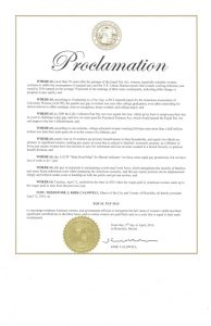 AAUW HNL mayor proclamation 2016- 04122016100356